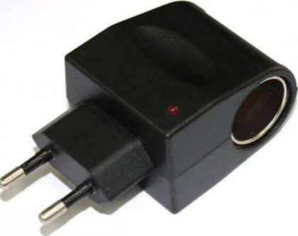 Lamtech AC TO 12V DC EU Car Power Adapter