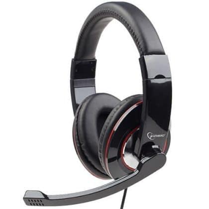 Gembird Mhs-001 Stereo Headset Glossy Black