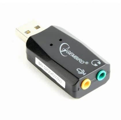 Sound Card Gembird Sc-usb2.0-01 Premium USB Virtus Plus