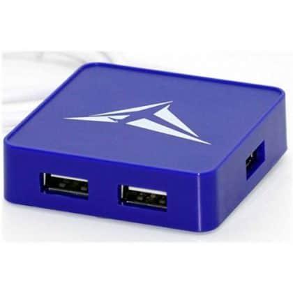 Alcatroz Hub 4xusb Ports U-hub S200 Blue S200bl