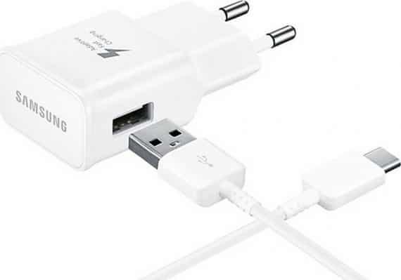 SAMSUNG Φορτιστής EP-TA20EBECGWW, USB Type-C, 15W 2A, retail, λευκό