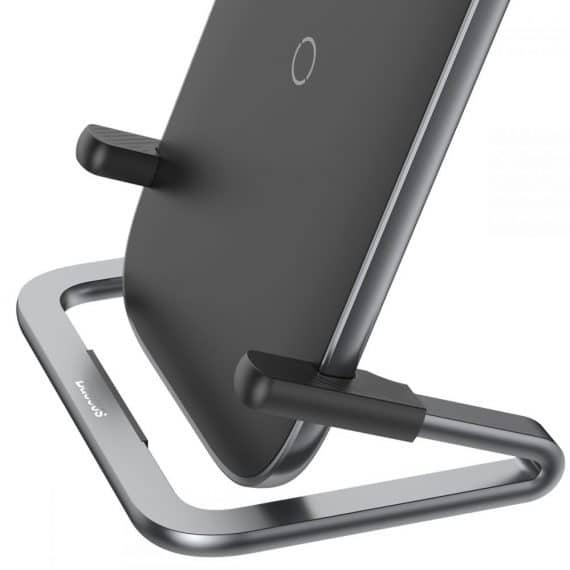 Baseus Rib Wireless Charger Black