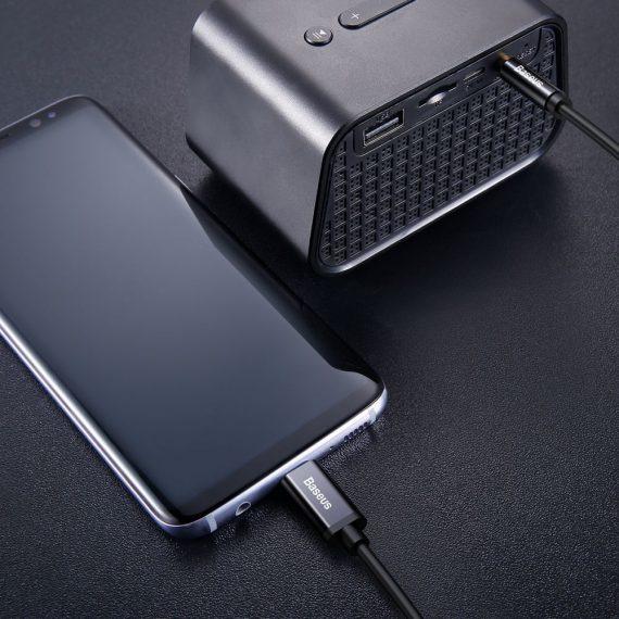 Baseus M01 Type-C To 3.5mm Cable 120cm Black
