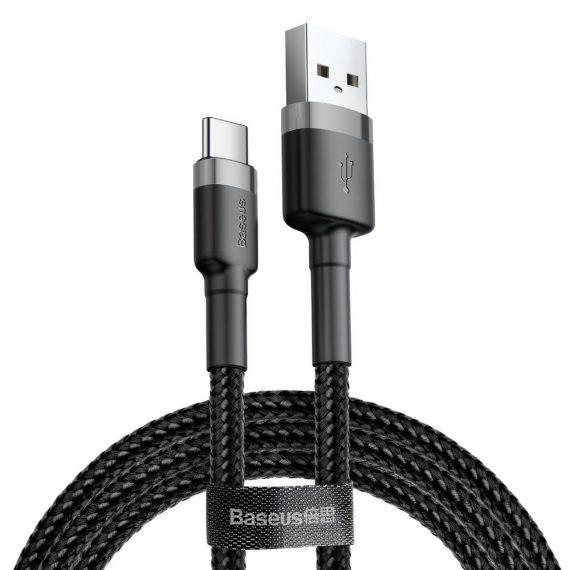 Baseus Cafule USB Type-C Cable 300cm Grey/Black