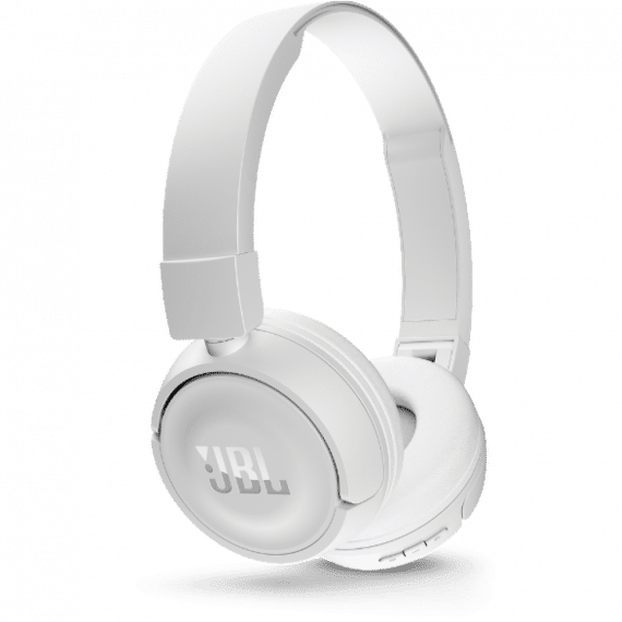 JBL Tune 500BT, OnEar Bluetooth Headphones With Earcup Controls White