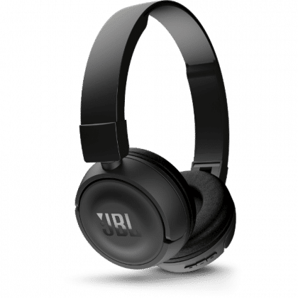 JBL Tune 500BT, OnEar Bluetooth Headphones With Earcup Controls Black