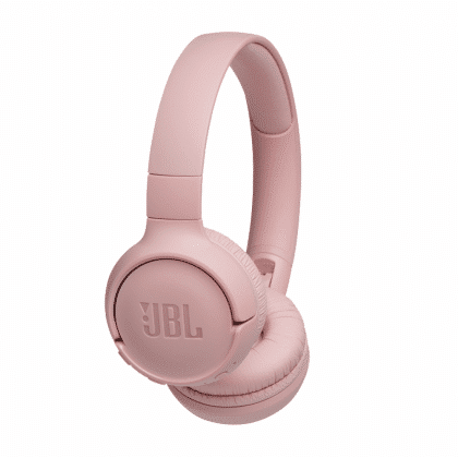 JBL Tune 500BT, OnEar Bluetooth Headphones With Earcup Controls Pink