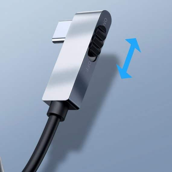 Baseus 6in1 USB Type C Multifunctional HUB, memory card reader (USB 3.0, HDMI, micro SD) Power Delivery 60 W gray (CAHUB-CWJ0G)