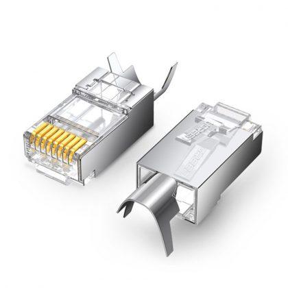 Ugreen 10x modular plug connector RJ45 8P8C Cat 6A Cat 7 (70316)