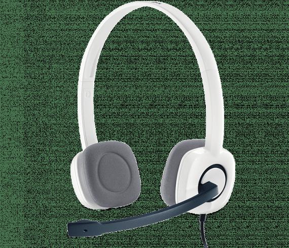 Logitech H150 Stereo Headset White