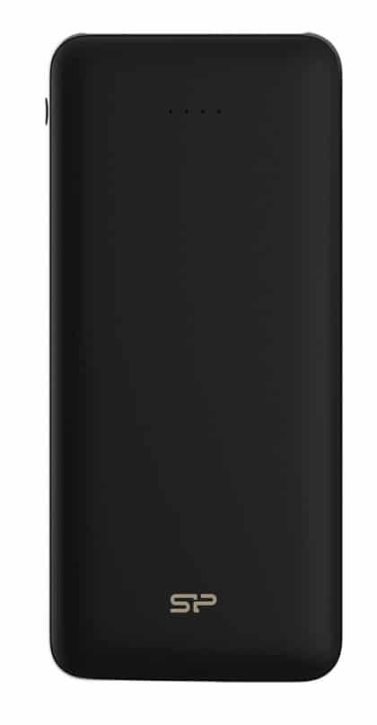 SILICON POWER Power Bank C200 20000mAh, 2x USB Output, Black