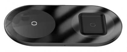 BASEUS διπλός ασύρματος φορτιστής Simple WXJK-01, USB Type-C, 15W