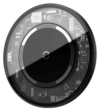 BASEUS ασύρματος φορτιστής WXJK-E01, 15W, λευκός