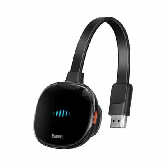 Baseus Meteorite Shimmer wireless display adapter WiFi - HDMI black (CATPQ-A01)