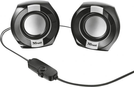Trust Polo Compact 2.0 Σετ Ηχεία, Μαύρο (20943)