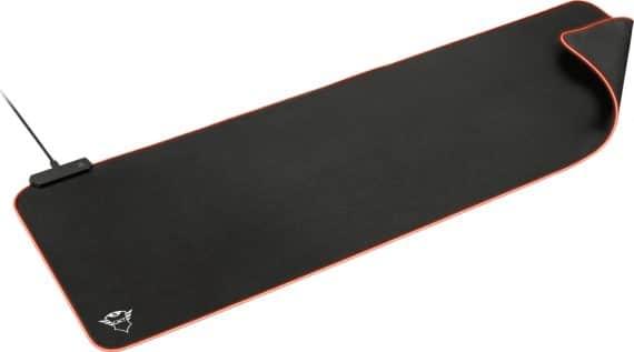 Trust GXT 764 Glide-Flex XXL RGB-illuminated Flexible MousePad μαύρο