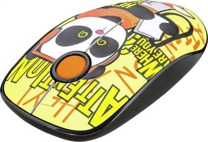 Trust Sketch Ασύρματο Ποντίκι Yellow (23337)