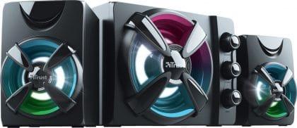 Trust Ziva RGB Illuminated 2.1 Gaming σετ ηχεία - 22W(23644)
