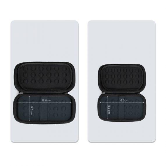 Ugreen HDD case box 16.5 x 9.5 x 4.5 cm, μαύρο (40707)