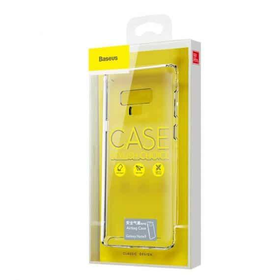 Baseus Airbag Back Cover Διάφανο Galaxy Note 9 (ARSANOTE9-SF02)