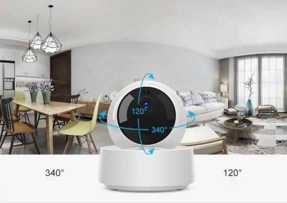 Sonoff GK-200MP2-B Wi-Fi ασύρματη IP Security κάμερα (340° pan x 120° tilt) Full HD 1080P, Λευκό (M0802050001)