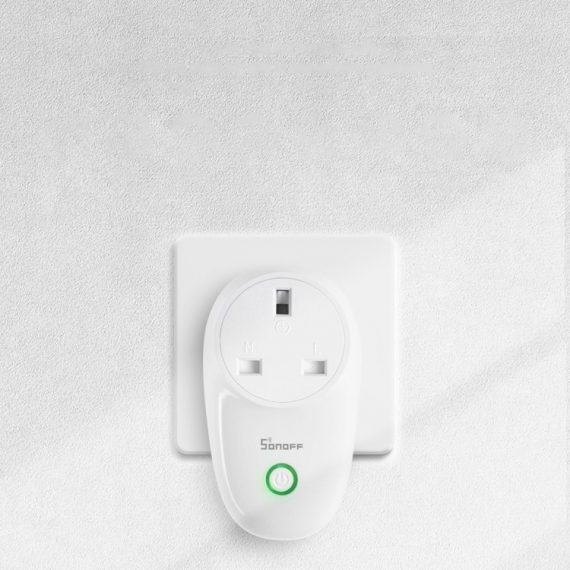 Sonoff S26TPE-FR Wi-Fi έξυπνη πρίζα, λευκό (IM180320003)
